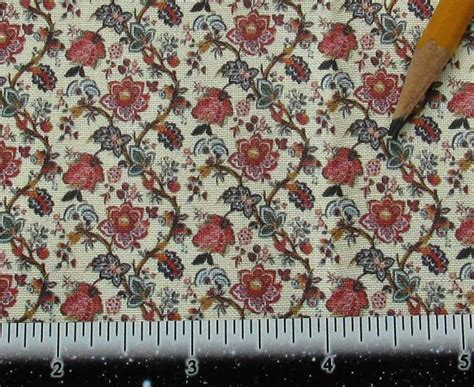 victorian upholstery fabric dollhouse miniature victorian upholstery fabric french floral