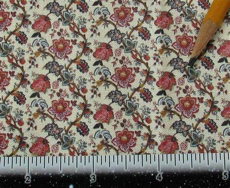 victorian fabrics upholstery dollhouse miniature victorian upholstery fabric french floral