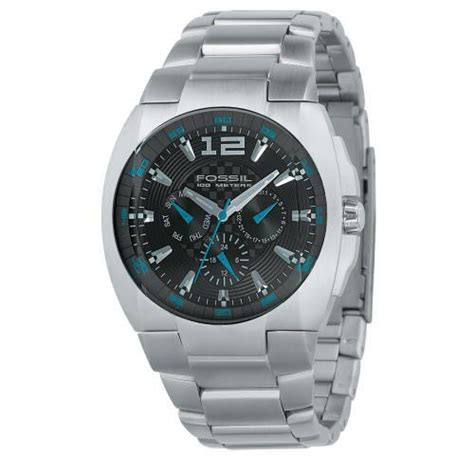Fossil 107 Blue fossil watches blue multifuction bq9307
