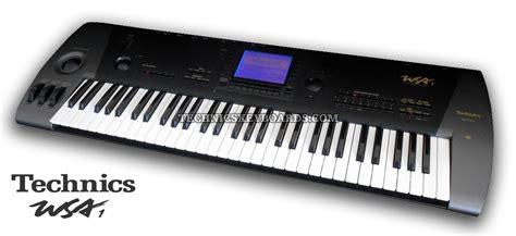 Keyboard Technics technics keyboards technics wsa1