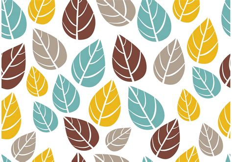 pattern on vector ornate seamless leaf pattern vector download free vector