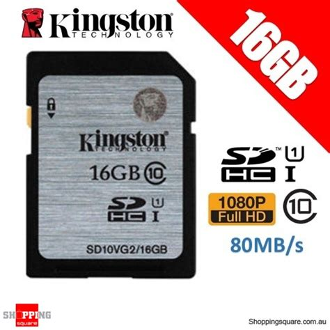 Kingston Microsd 16gb Class 10 kingston 16gb sdhc sdxc class 10 uhs i sd card memory card
