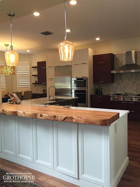 Faux Wood Countertops by 17 Best Images About Live Edge Wood Countertops On