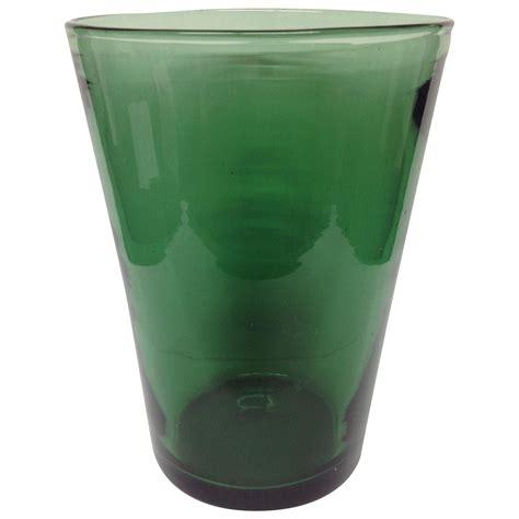 Vase Transparent transparent green venini glass vase chairish