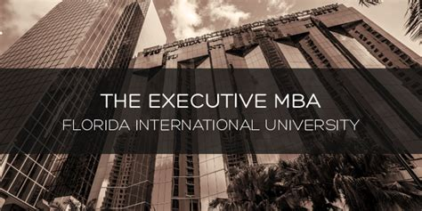 Executive Mba Florida International south florida nights magazine 187 fiu executive mba network