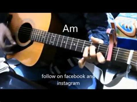 guitar tutorial video for beginners in hindi 4 open chords 8 superhit bollywood songs mashup