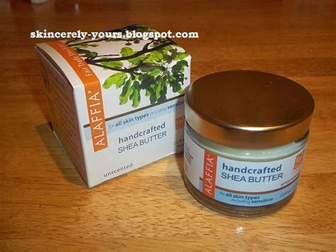 Alaffia Handcrafted Shea Butter Unscented - skincerely yours whole foods haul