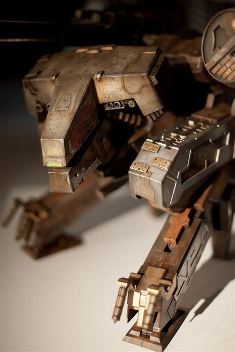 Metal Gear Rex Papercraft - metal gear rex