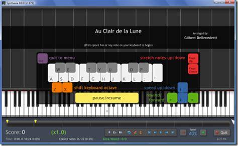 belajar piano gratis 3 cara bermain piano synthesia zudjian22