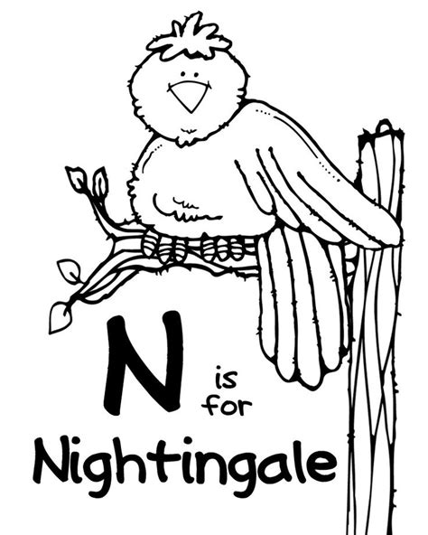 malakiah nightingale s creatures a colouring book by yhon dos santos creepy colouring books i like books inspirations letter n week ps alphabet