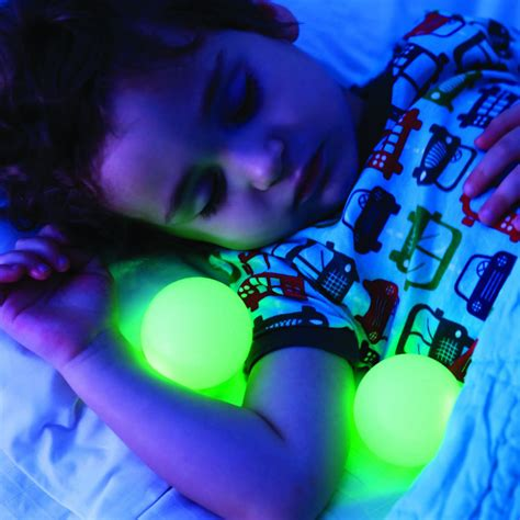 Glowing L With Removable Balls boon glo nightlight with glowing balls the green