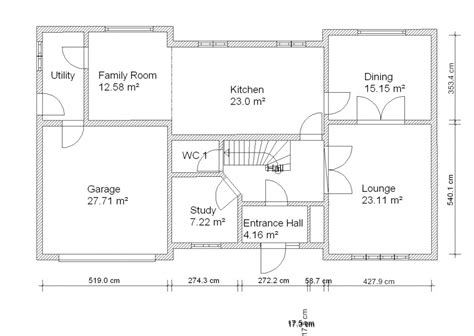 house drawing plan samples  complete  ideas