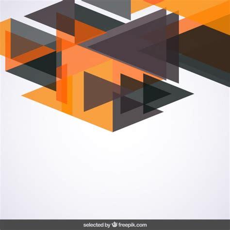 orange and black background design vector free download background with black and orange triangles vector free
