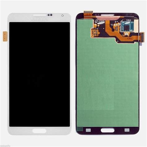 Lcd Samsung Note 3 Neo lcd with touch screen for samsung galaxy note 3 neo white by maxbhi