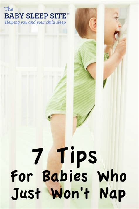 Baby Wont Sleep In Crib by 7 Tips For Babies Who Just Won T Nap The Baby Sleep Site