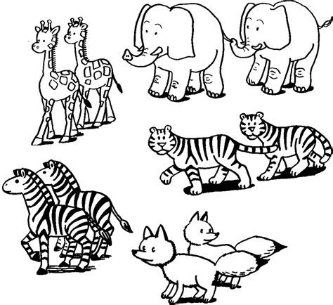 Animal Coloring Page by Animals Coloring Pages Realistic Coloring Pages