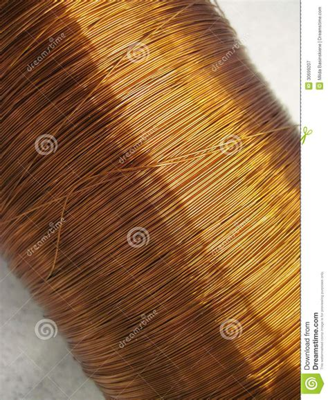 copper wire royalty free stock photography image 30699207