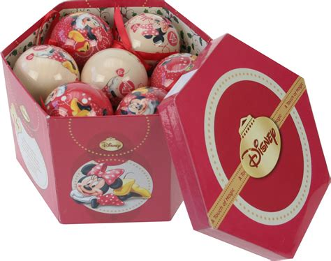 Tb 037 Tumbler Minnie Mouse disney minnie mouse kerstballen in cadeauverpakking kopen