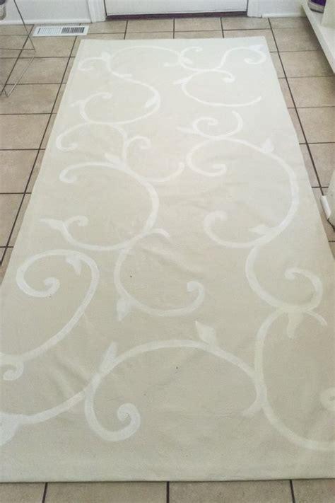 Oil Cloth Rug Make A Floor Cloth From A Drop Cloth Hometalk