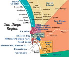 San Diego Area Map by Map Of San Diego Area Google Search Food Trucks