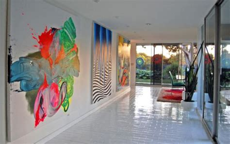 Paintings To Decorate Home by Decorate Using Abstract Paintings