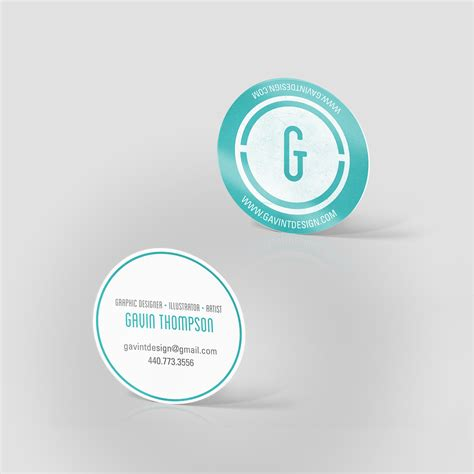 circle business card template 2 quot circle business cards jakprints inc