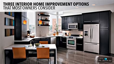 interior home improvement three interior home improvement options that most owners consider the list