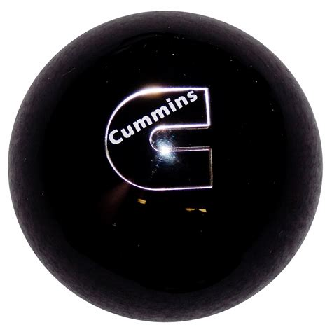 Black Knobs by Cummins C Logo Vintage Black Knob