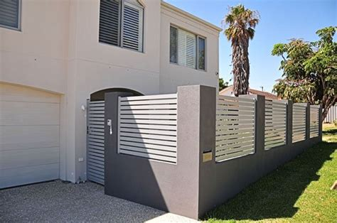 Boundary Wall Design by Timber Vs Metal Fencing What To Consider Fencemakers