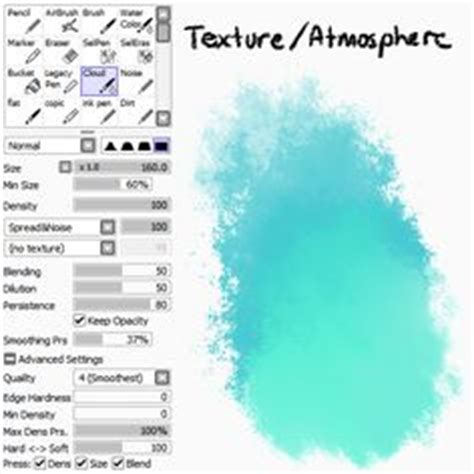 paint tool sai or firealpaca simple stylized tree tutorial you can the