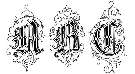 tattoo fonts old english style writing style letters books libraries writing