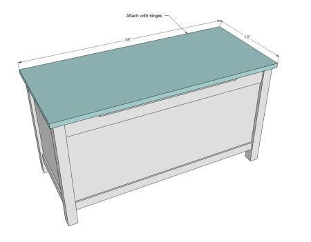 simple modern toy box  lid diy wood box modern toy