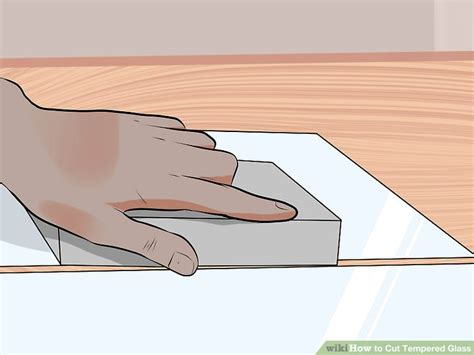 How To Cut Tempered Glass Shower Doors How To Cut Tempered Glass 7 Steps With Pictures Wikihow