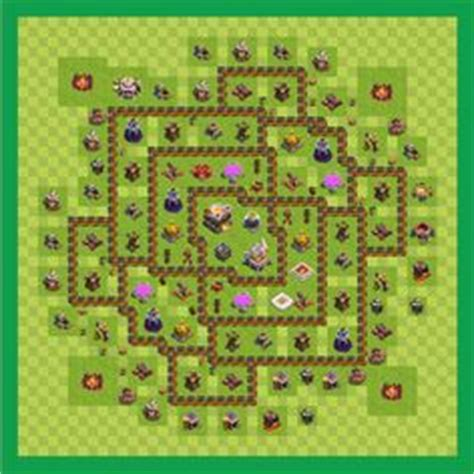 layout coc copy war base town hall level 10 by felipe porto copy th 10