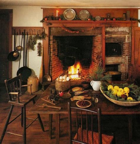 beautiful fireplace country primitive rooms pinterest nice colonial to primitive pinterest christmas
