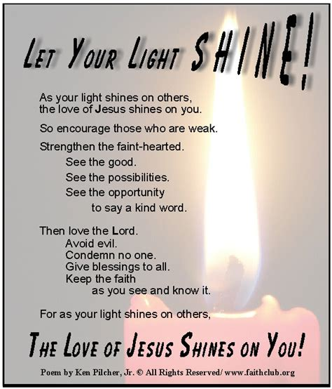 light poems light inspirational quotes and poems quotesgram