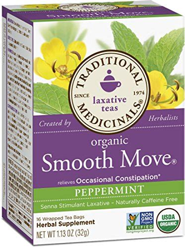 Smooth Move Detox by Herbal Laxative Tea What It Is And How It Helps