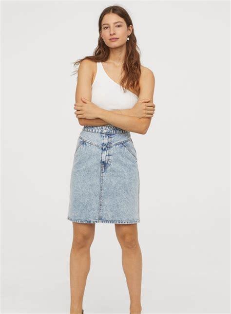 sommer jeans roecke   modelle die derzeit  mode