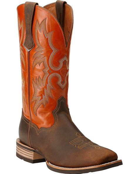 square toe boots ariat ariat tombstone western boots square toe country outfitter