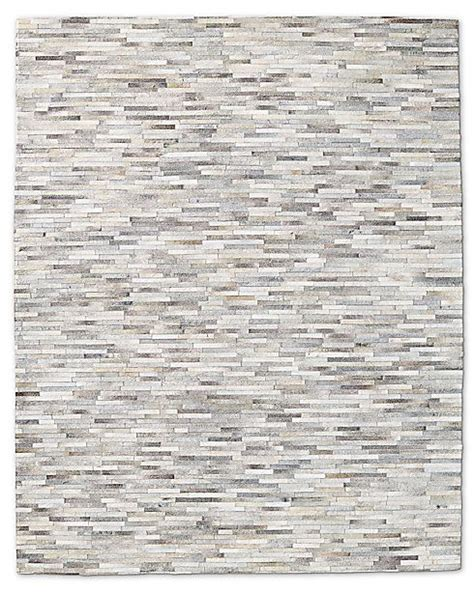 Restoration Hardware Area Rugs South American Cowhide Stripe Rug Restoration Hardware Cool Products For The Home Pinterest