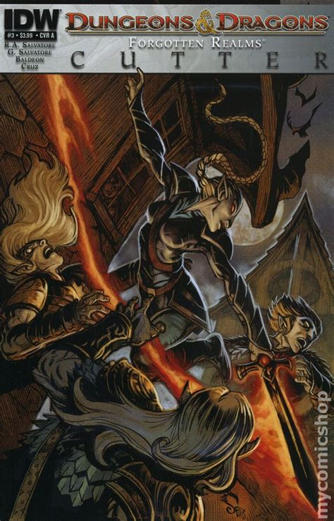 dungeons and dragons comic pictures dungeons and dragons cutter 2013 idw comic books