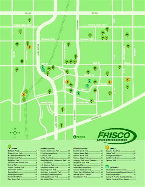 where is frisco texas on a map parks in frisco texas map frisco tx mappery