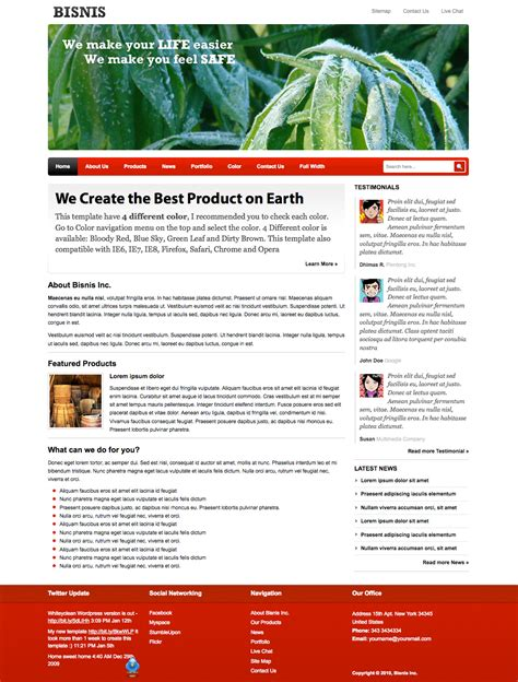 templates for company profile business template for company profile by plentong