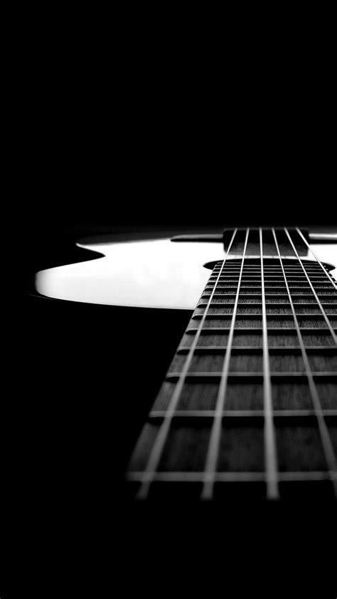 music wallpaper pinterest black and white guitar music instrument iphone wallpapers