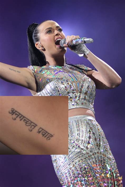 katy perry tattoo que significa tatuajes en el brazo la frase de katy perry