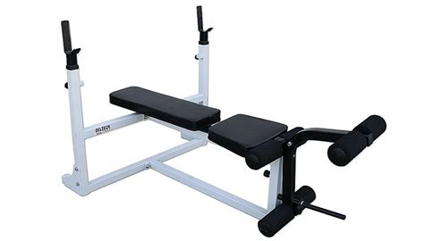deltech fitness flat bench df1000 deltech fitness olympic bench new ebay