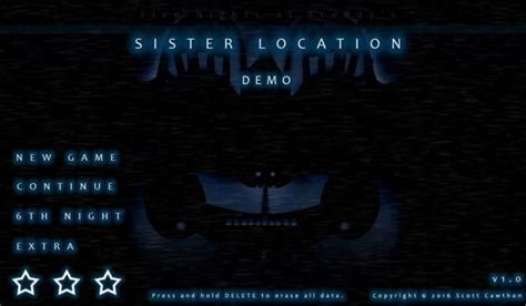 five nights at freddys sister location demo five nights at freddy s sister location demo sister