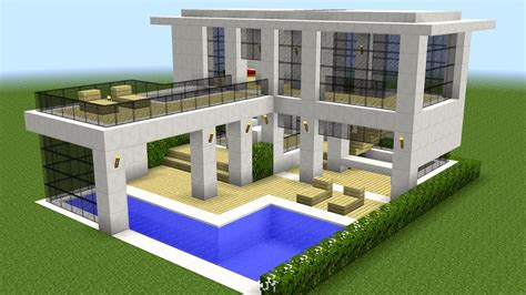 how do you make a house minecraft how to build a modern house 10 youtube