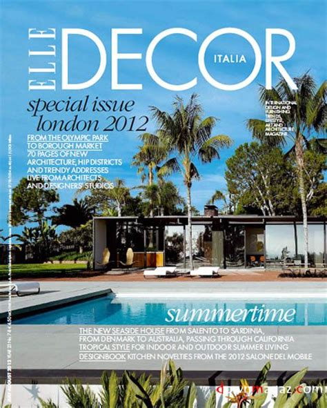 home decor magazine july 2012 187 pdf magazines archive elle decor london 2012 july august 2012 187 download pdf