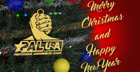 merry christmas  happy  year armwrestling armpowernet
